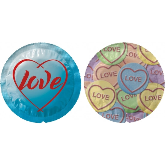 Exs Themed Love Hearts