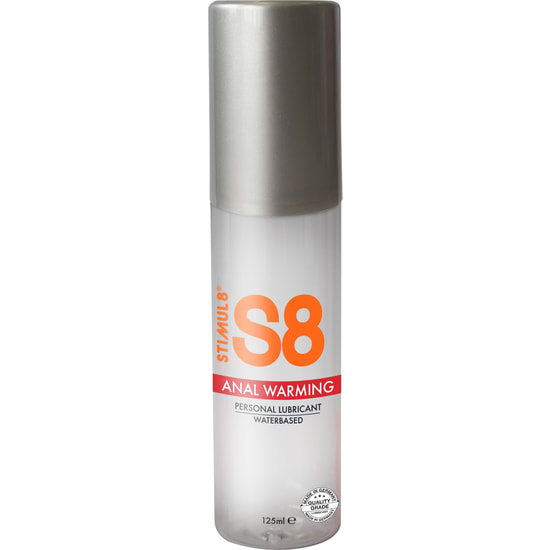 S8 Lubricante Anal Warming