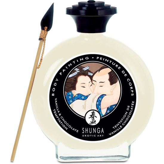 Shunga body painting