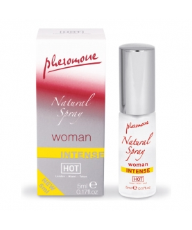 Hot spray de feromonas natural intenso para mujeres 5 ml