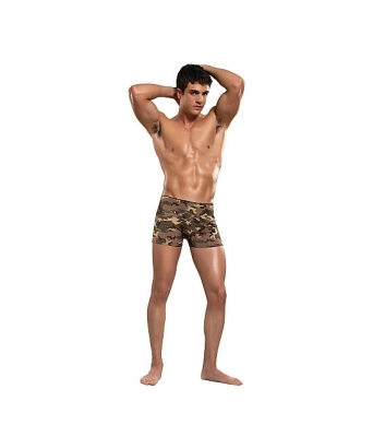 Male power boxer camuflaje