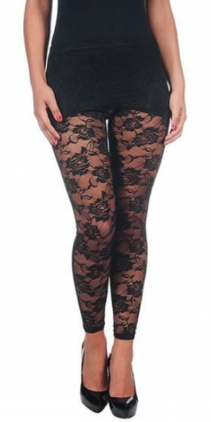 Intimax leggins encaje black